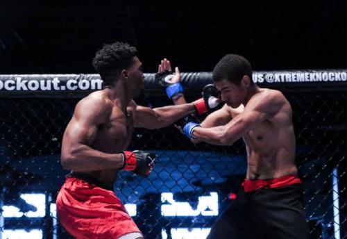 XKOA 11 - Fight 1 - Wesley Hawthorne vs Rhys Brooks-16