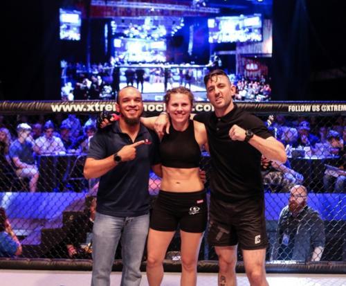 XKOA 11 - Fight 4 - Loren Benjar vs Emilee Hoffman-32