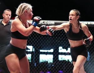 XKOA 35 Fight 3 - Felesha Magallan vs Michelle Trent-35
