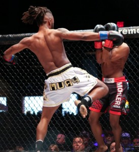 XKOA 35 Fight 4 - Travell Boone vs Chris Williams-9